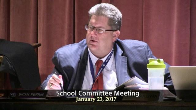 Winthrop School Committee Meeting of January 23, 2017