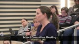 Winthrop School Committee Meeting of March 13, 2017