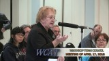 Winthrop Town Council Meeting and Spring Forum, April 17, 2018