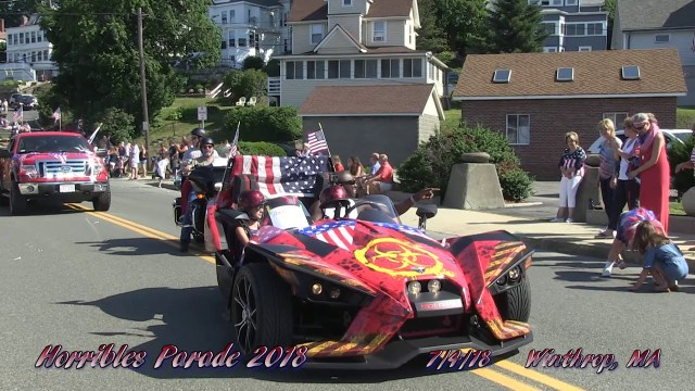 The Winthrop Horribles Parade, July 4, 2018