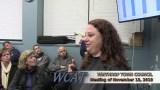 Winthrop Town Council Meeting of November 13, 2018