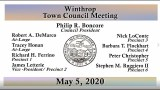 Town Council Meeting of May 5, 2020