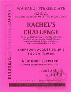 Rachel's Challenge