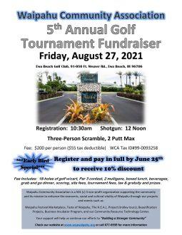 2021 WCA Golf Tournament Fundraiser