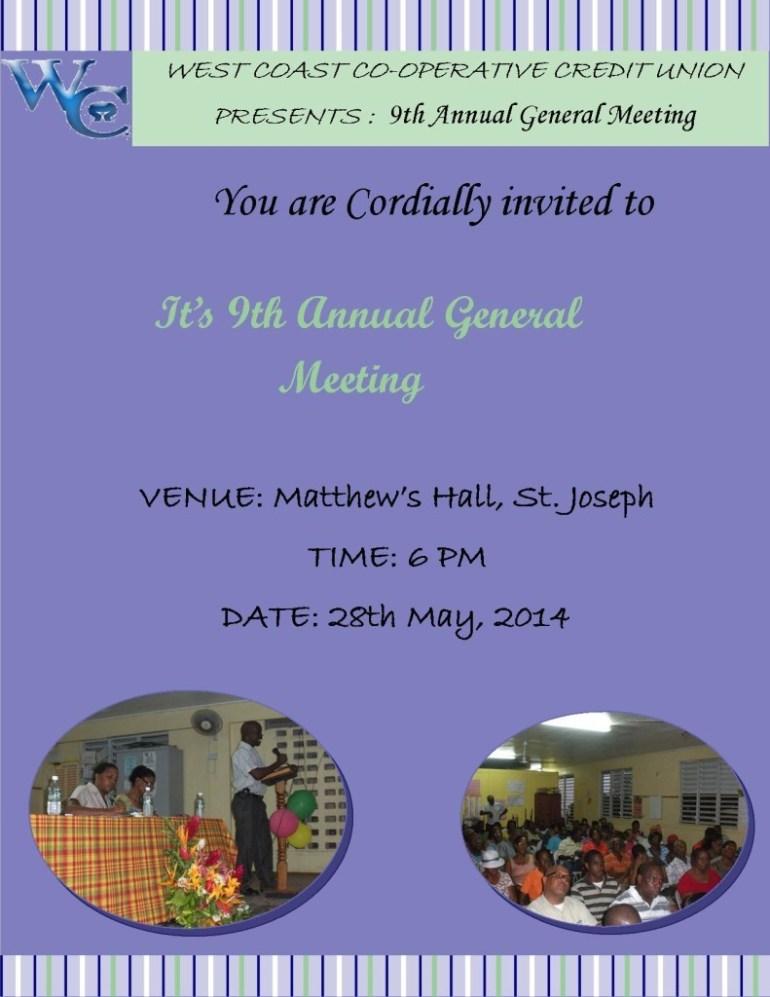 AGM Invitation