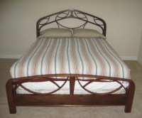 Steam bending a Solid Walnut bed - Wilson Cunningham ...