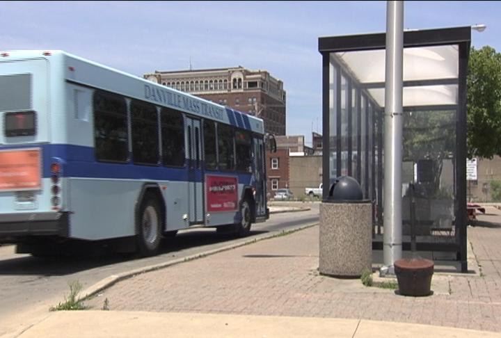 danville mass transit bus