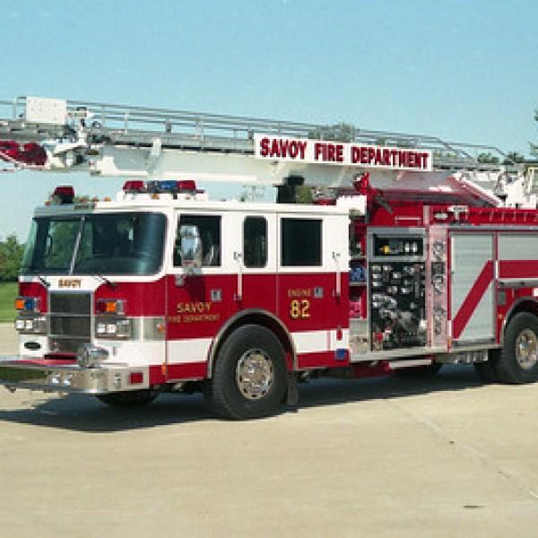 Savoy Fire Chief