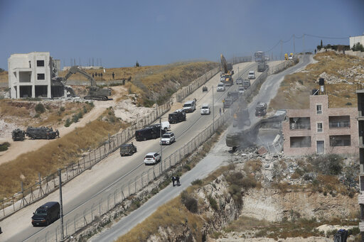 Israel approves Palestinian construction in West Bank – WCIA com