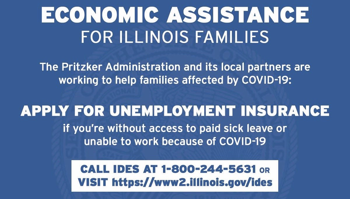Unemployment insurance for those out of a job due to shut downs ...