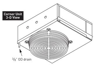 Dual-Air Quiet Wine Cellar Cooler Series