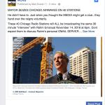 chicago mayor radio take over