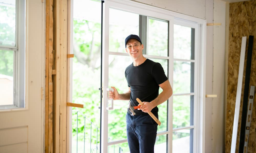 6 steps to remove a sliding glass door