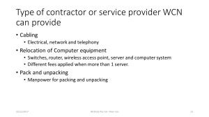 WCN Office Relocation - Slide22