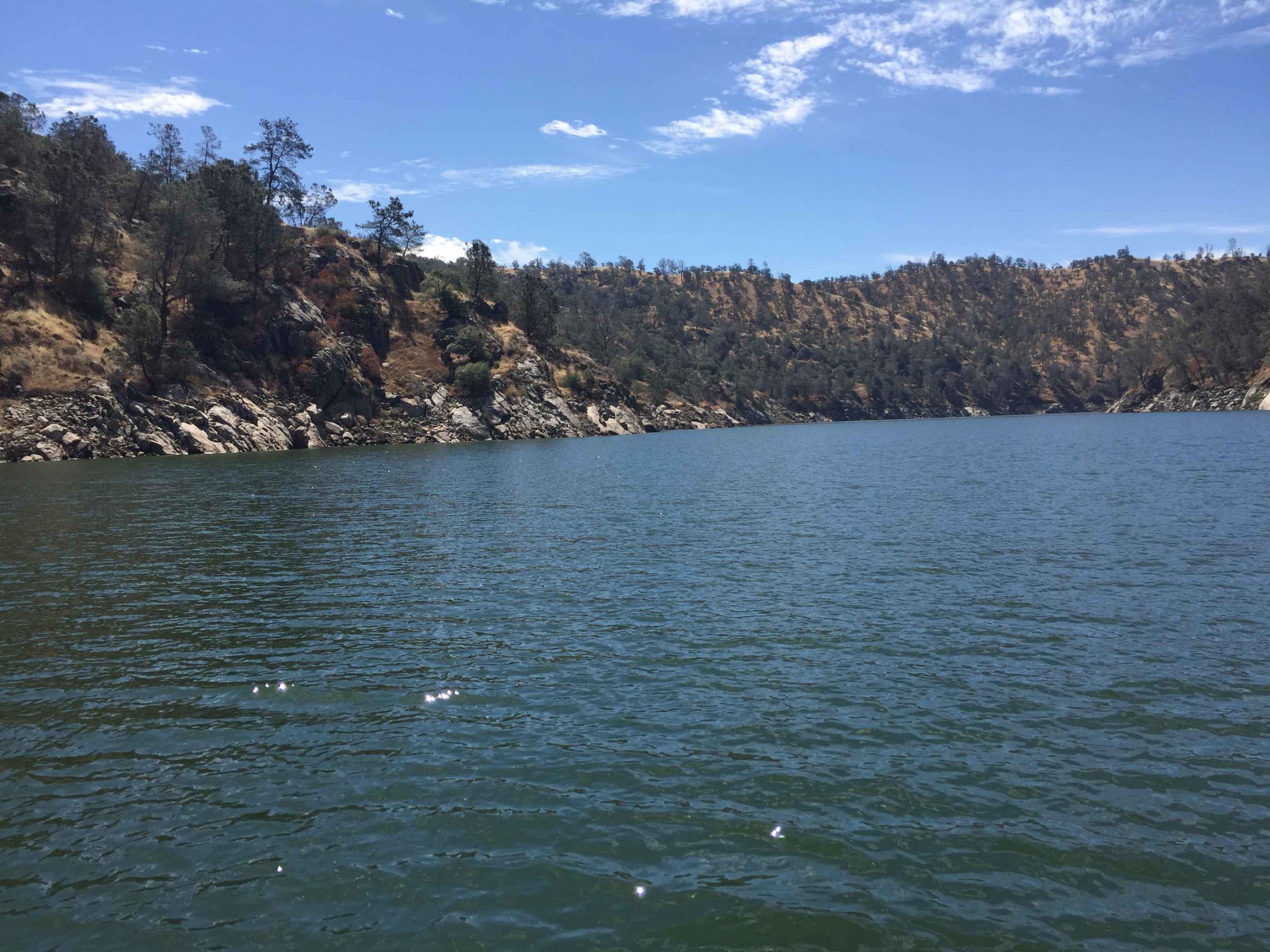 Aboveground Water Storage in California
