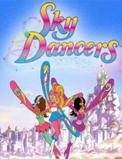 sky dancers watch cartoons