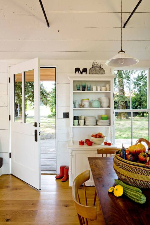 Tiny House - A welcoming space to enter.