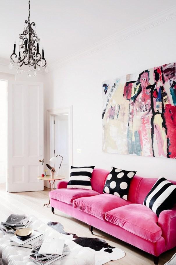 Pink Sofa 3