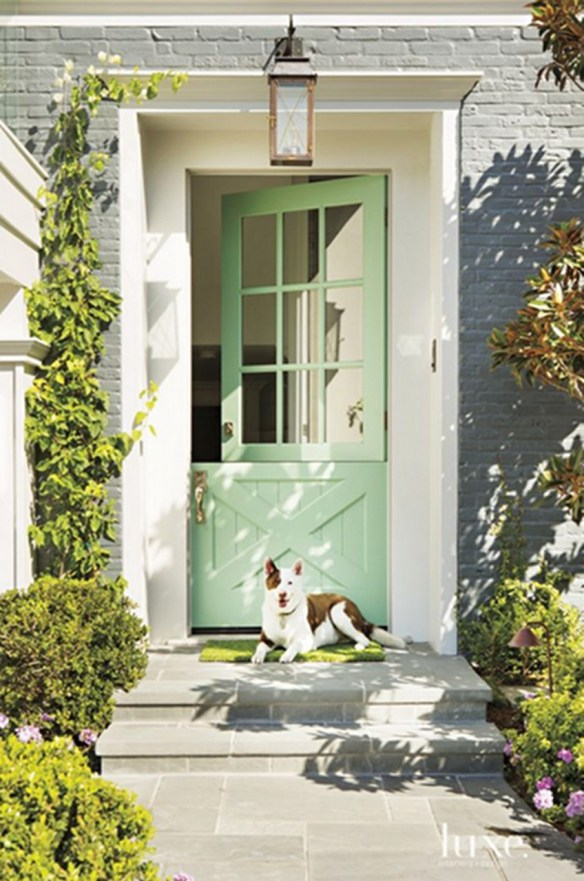 luxe-mint-green-dutch-door