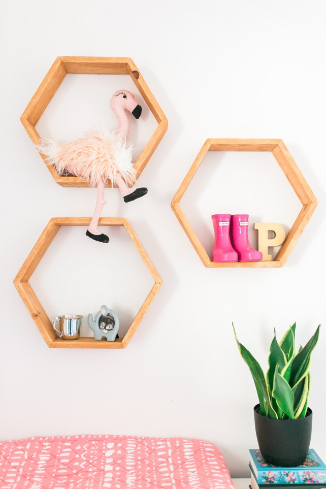love-lola-baby-girl-nursery-one-room-challenge-hexagon-shelves