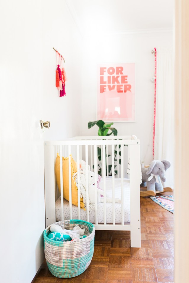 love-lola-baby-girl-nursery-one-room-challenge-pink-art