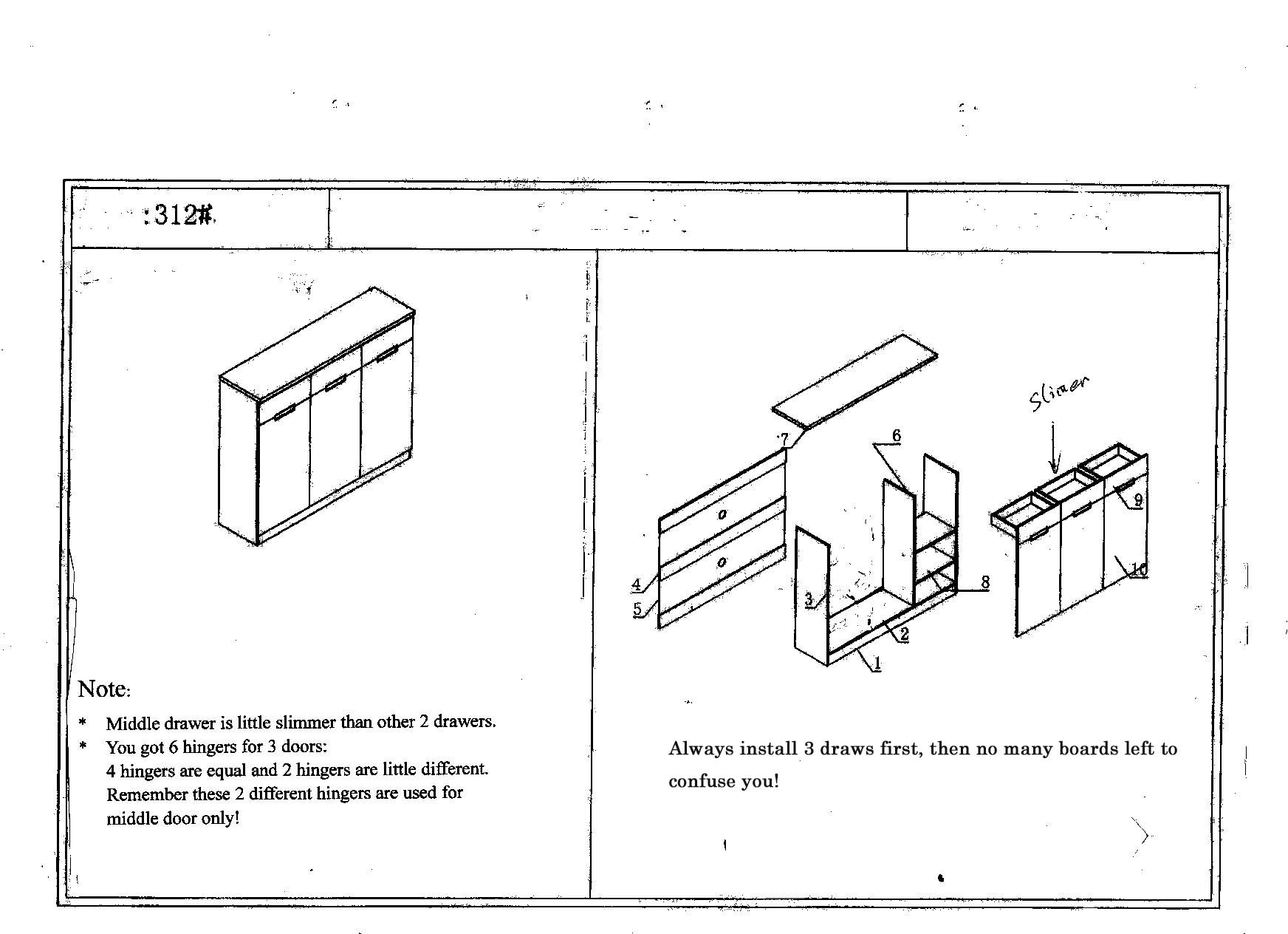 installation diagram: office furniture melbourne