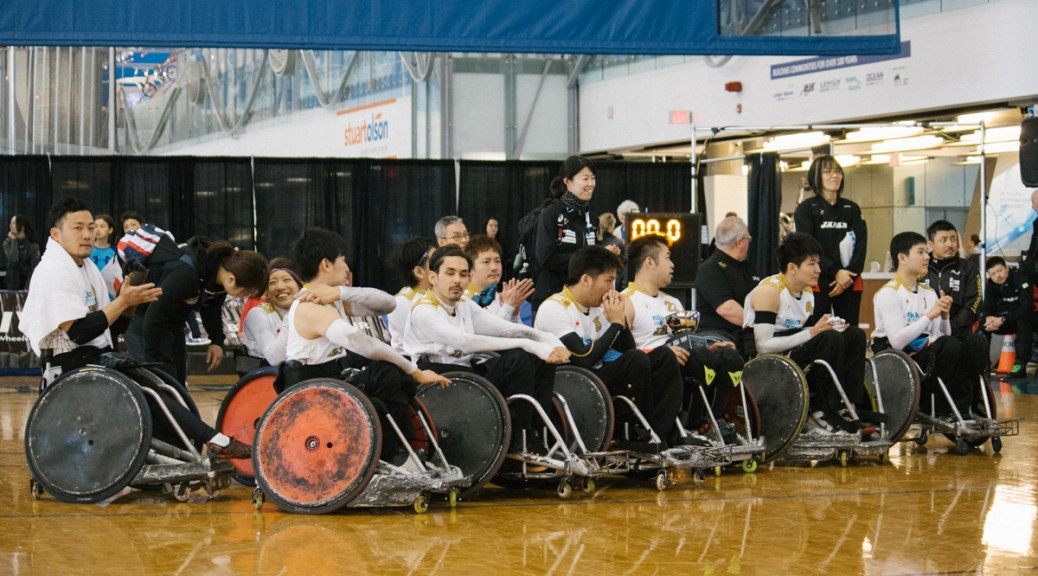 Team Japan, 2017 Vancouver Invitational Wheelchair Rugby Tournament