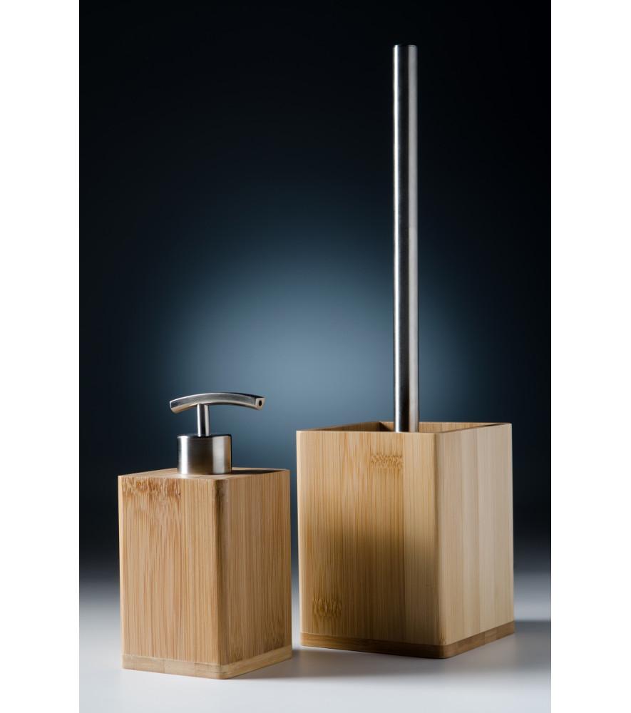 Badezimmer Set Bambus  WCShop24de