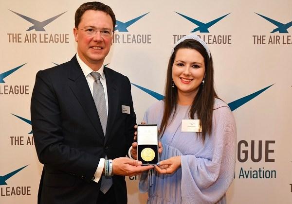 Bridget Donaldson and Robert Courts MP - Aviation Minister.