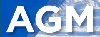 AGM, Annual General Meeting badge