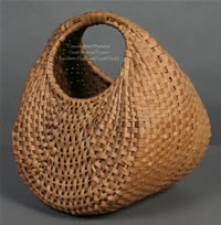Basket made from white oak