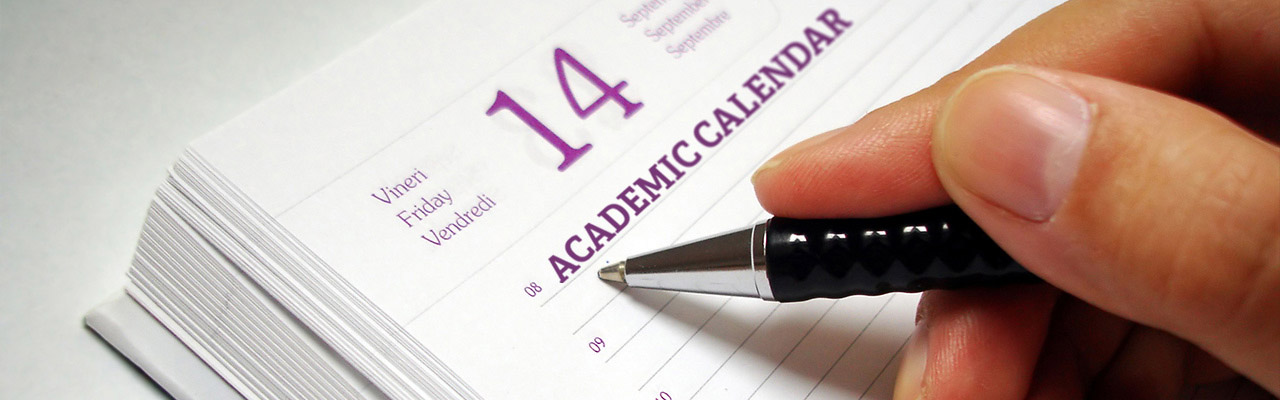 Academic Calendar - West Chester University