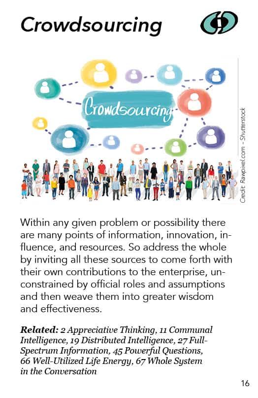 16 – Crowdsourcing