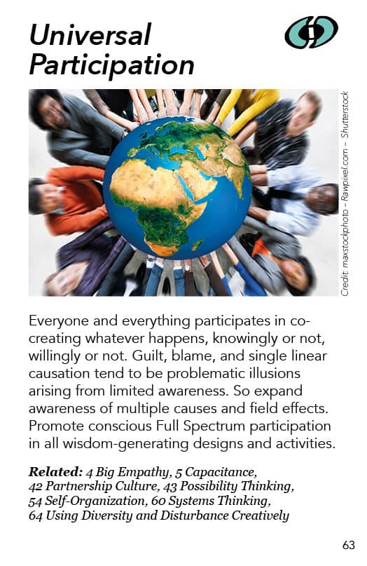 63 – Universal Participation