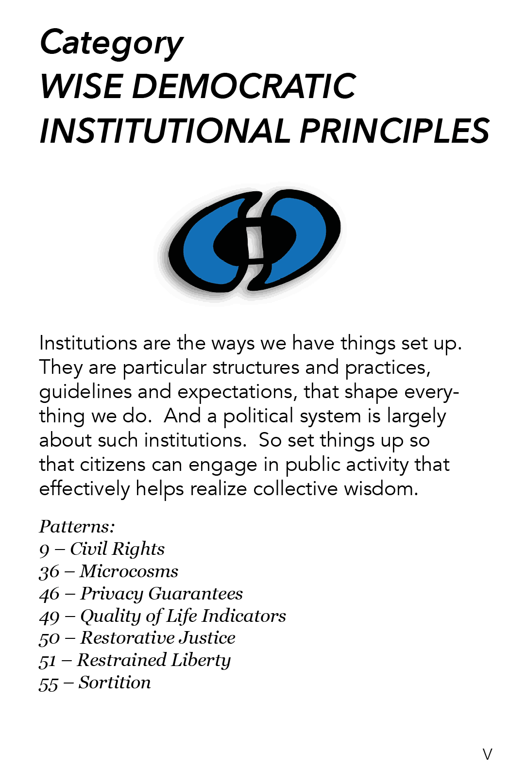 AA - 6 - Wise Democratic Institutional Principles