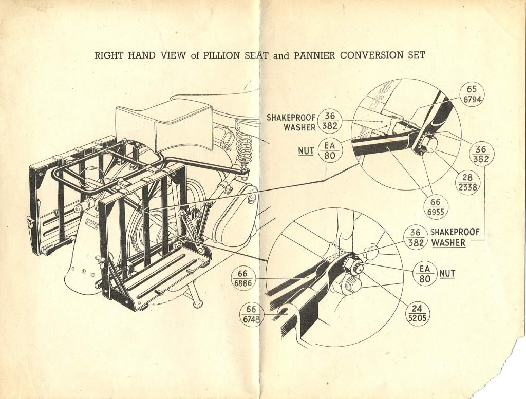 hight resolution of pannier frame fitting instructions