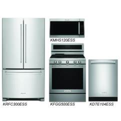 Cheap Kitchen Appliance Packages Copper Accents Discount Package Kitchenaid 4 Piece Stainless Steel
