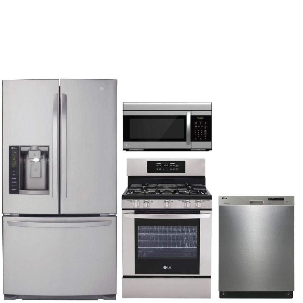 Discount Package LG 4Piece Kitchen Package