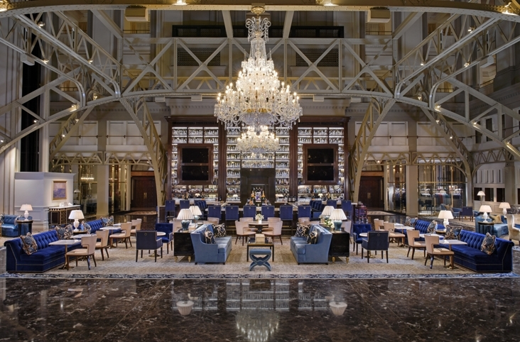 Trump International Hotel at the Old Post Office Building  WDG Architecture Planning Interiors