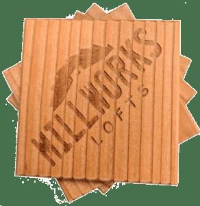 Millworks Lofts Coaster