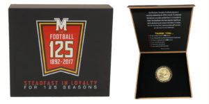 University of Maryland 125 Coin