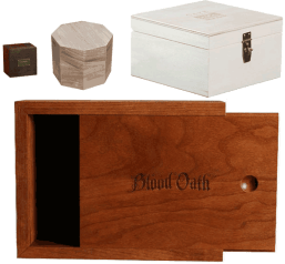Solid wood packaging and boxes by WDI Companies