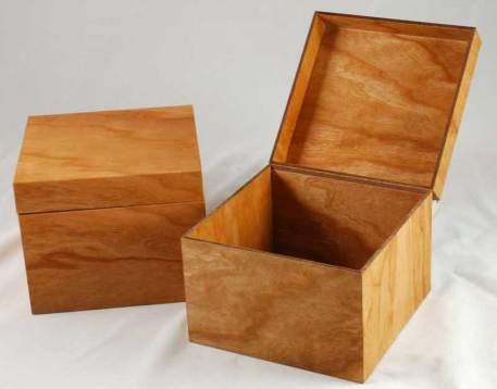 MinnMade Cherry Veneer composite box