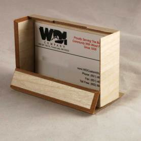 WDI - Birch Veneer Business Card Holder