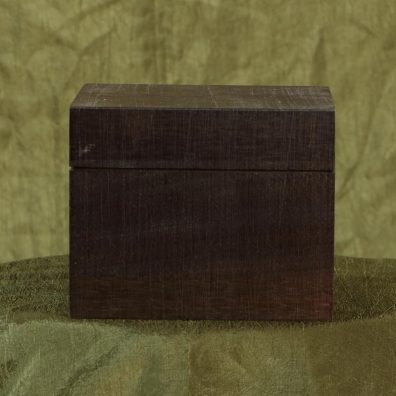 Wooden Product Package - Hinged Top