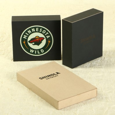 Group of MinnMade Logoed boxes