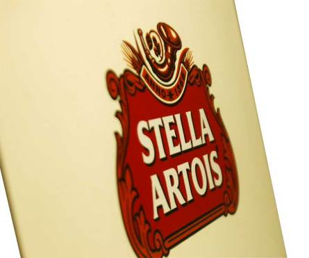 Stella Artois Logo on box