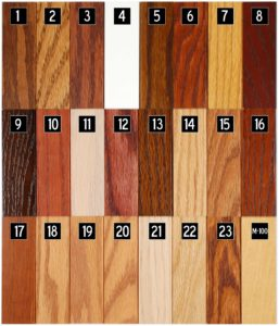 WDI Wood Stain Choices