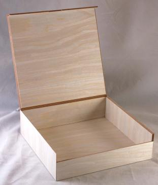 MinnMade 8 inch Wood Veneer Box