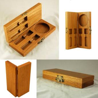 Milled Inset Hinged Box